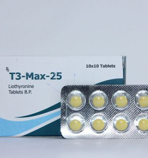 Buy Liothyronine (T3) with fast shipping in USA | T3-Max-25 at a low price at firesafetysystemsfl.com